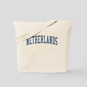 Netherlands Blue Tote Bag