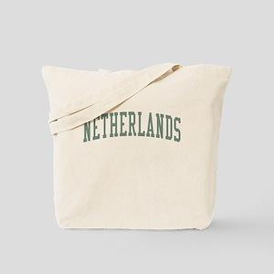 Netherlands Green Tote Bag
