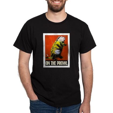 ON THE PROWL Dark T-Shirt