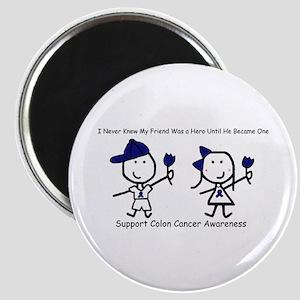 Blue Ribbon - Friend Magnet