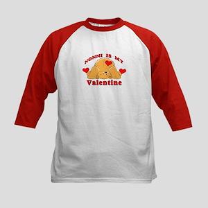 Nonni My Valentine Kids Baseball Jersey