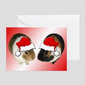Pig Duo Christmas Greeting Cards (Pk of 10)
