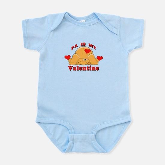 Pa My Valentine Infant Bodysuit