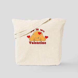 Pa My Valentine Tote Bag