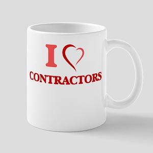 I love Contractors Mugs
