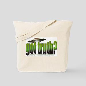 got truth? (green) Tote Bag