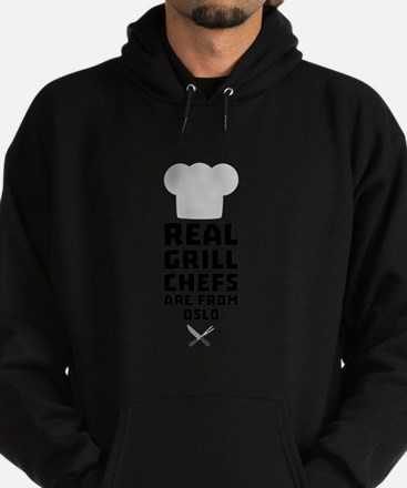 Real Grill Chefs are from Oslo Cfo1n Sweatshirt