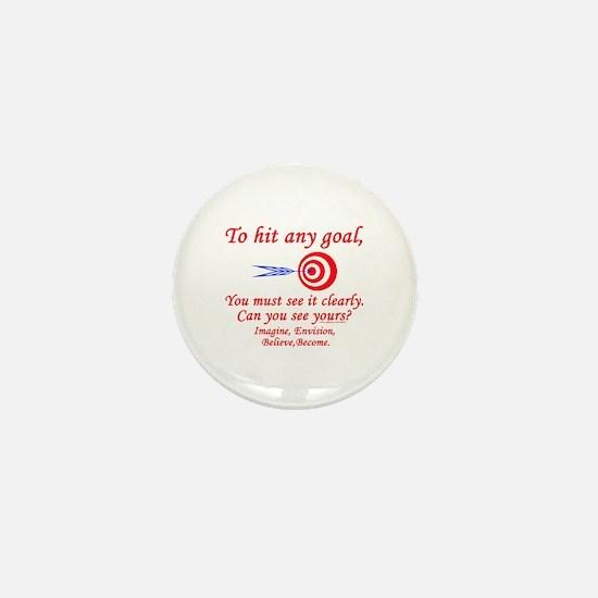 Hit Your Goal Mini Button