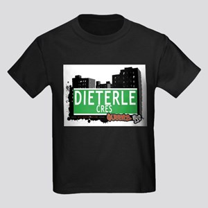 DIETERLE CRES, QUEENS, NYC Kids Dark T-Shirt
