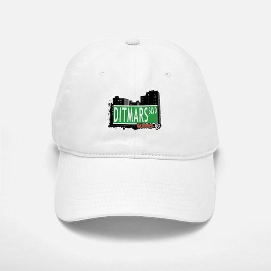 DITMARS BOULEVARD, QUEENS, NYC Baseball Baseball Cap