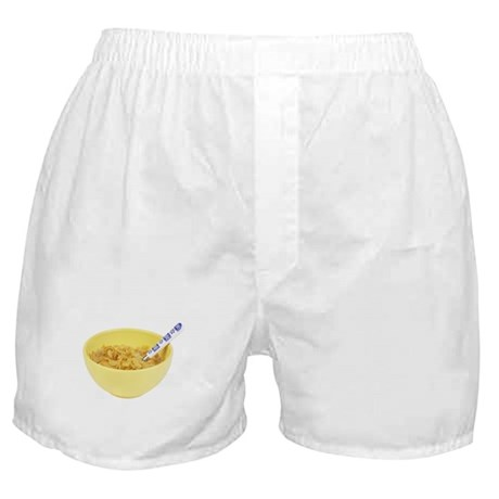 Some Cornflakes On Your Boxer Shorts
