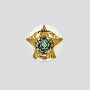 Fort Bend Constable Mini Button (100 pack)