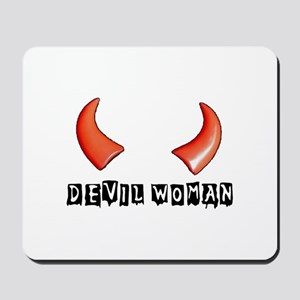 DEVIL WOMAN Mousepad
