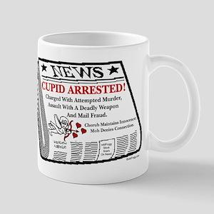 oddFrogg Cupid Arrested Mug