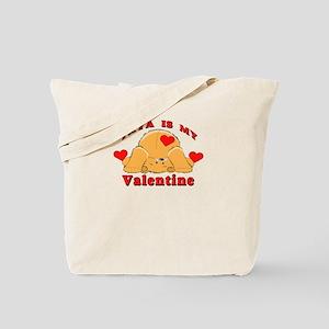 Yaya My Valentine Tote Bag