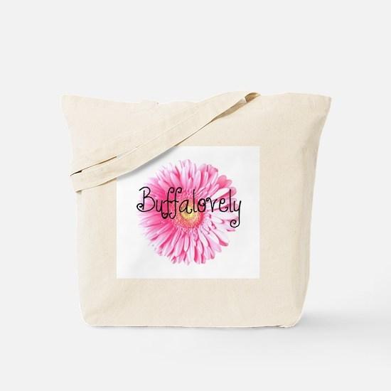 Buffalovely Gerber Daisy Tote Bag