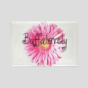 Buffalovely Gerber Daisy Rectangle Magnet