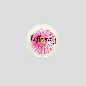 Buffalovely Gerber Daisy Mini Button