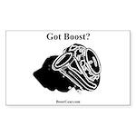 Got Boost? - BoostGear - Rectangle Sticker 50 pk)