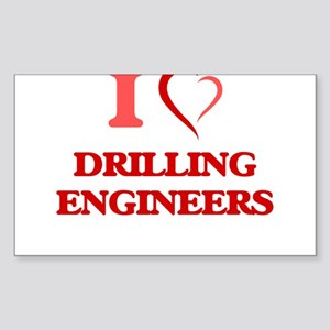 I love Drilling Engineers Sticker