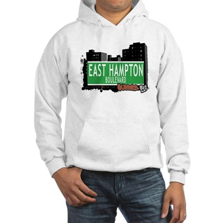 EAST HAMPTON BOULEVARD, QUEENS, NYC Hooded Sweatsh