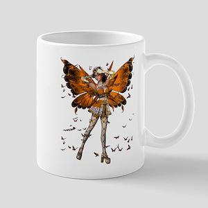 Butterfly Kisses Mandarin Garnet Mug