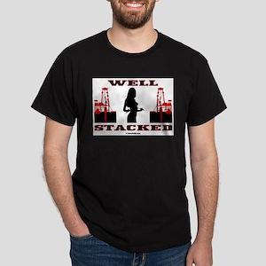 Well Stacked Dark T-Shirt