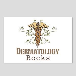 Dermatology Rocks Caduceus Postcards (Package of 8