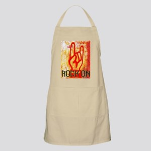 ROCK ON - RED BBQ Apron