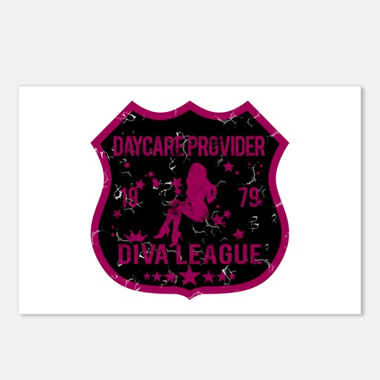 Daycare Provider Diva League Postcards (Package of