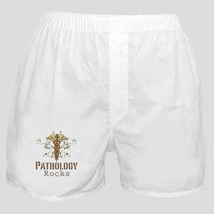 Pathology Rocks Caduceus Boxer Shorts