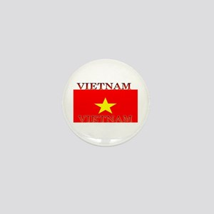 Vietnam Vietnamese Flag Mini Button