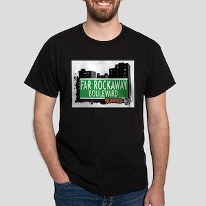 FAR ROCKAWAY BOULEVARD, QUEENS, NYC Dark T-Shirt