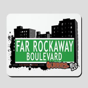 FAR ROCKAWAY BOULEVARD, QUEENS, NYC Mousepad