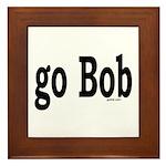 go Bob Framed Tile