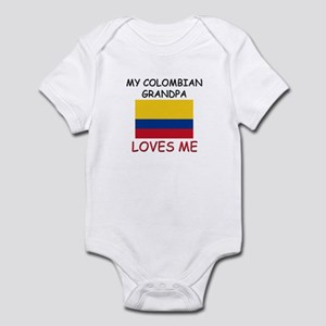 My Comoran Grandpa Loves Me Infant Bodysuit