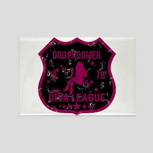 Dog Groomer Diva League Rectangle Magnet