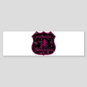 Dog Groomer Diva League Bumper Sticker