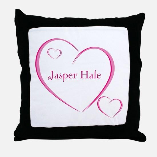 Jasper Hale Throw Pillow
