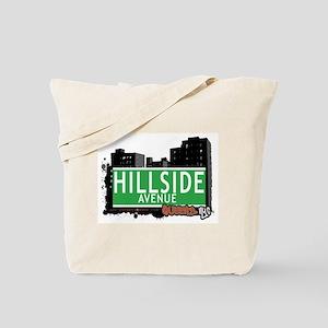 HILLSIDE AVENUE, QUEENS, NYC Tote Bag