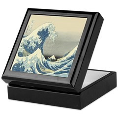 The Wave Keepsake Box