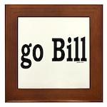 go Bill Framed Tile