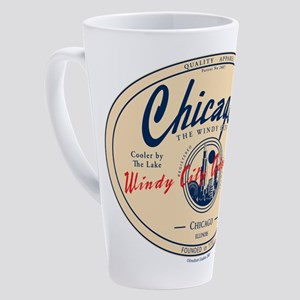 Chicago Windy City Adventure 17 oz Latte Mug