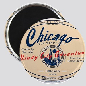 Chicago Windy City Adventure Magnets