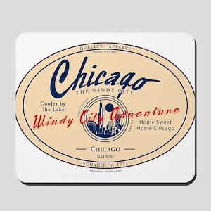 Chicago Windy City Adventure Mousepad