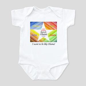 I Want to be like Obama Infant Bodysuit