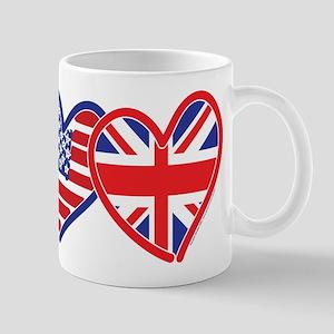 American Flag/Union Jack Flag Mugs