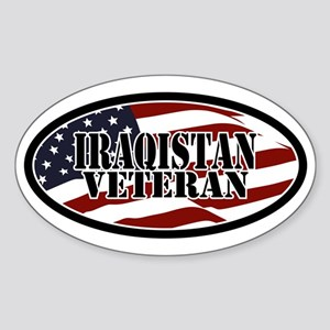 Iraqistan Veteran Sticker