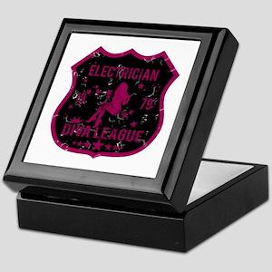 Electrician Diva League Keepsake Box