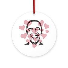 oddfrogg Obama Commemorative Valentine Ornament